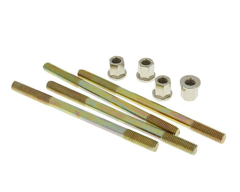 cylinder bolt set Naraku incl. nuts M7 thread 110mm overall length - 4 pcs each