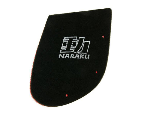 air filter foam insert Naraku double layer for Kymco SF10