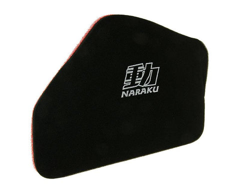 air filter foam insert Naraku double layer for Kymco GR1