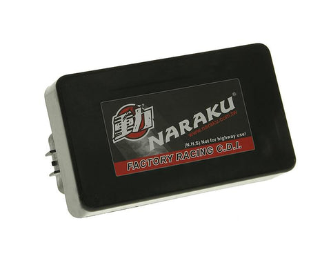 CDI unit Naraku unrestricted for Kymco Like, Agility, Super 8 4-stroke