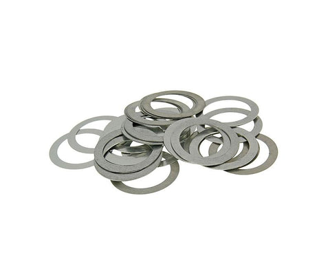 variator control shims Naraku speed-up kit 15mm