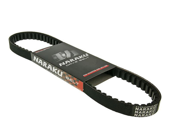 drive belt Naraku type 724mm for Piaggio short, Honda, Peugeot