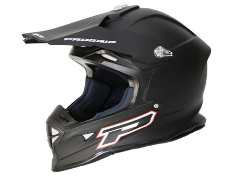 MX helmet ProGrip 3190 MATT black size XL (61-62)