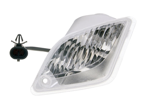 indicator light assy rear right, white OEM for Vespa GT, GTS, GTV