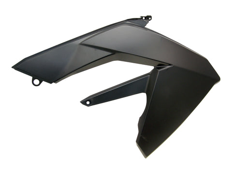 tank cover panel right-hand OEM black for Aprilia RX, SX 06-