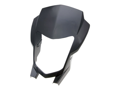 headlight mask OEM black for Aprilia RX, SX 11-
