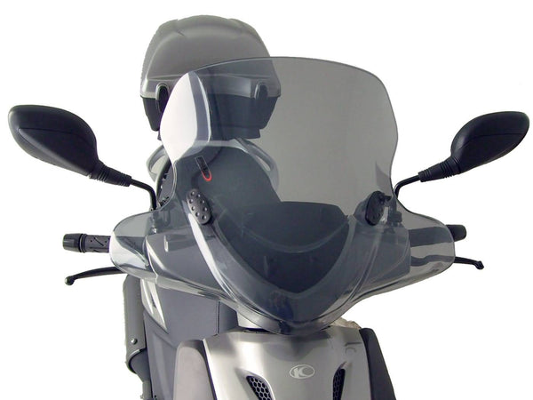 windshield Puig City Touring smoke for Kymco Agility 50, 125 (09-14)