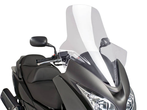 windshield Puig V-Tech Touring transparent / clear for Honda Silver Wing FJS 400, 600 NF03 09-