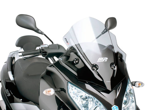 windshield Puig V-Tech Sport smoke for Piaggio MP3 300ie LT Sport 2014