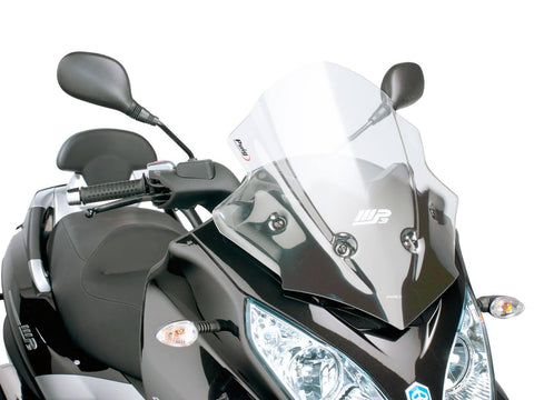 windshield Puig V-Tech Sport transparent / clear for Piaggio MP3 300ie LT Sport