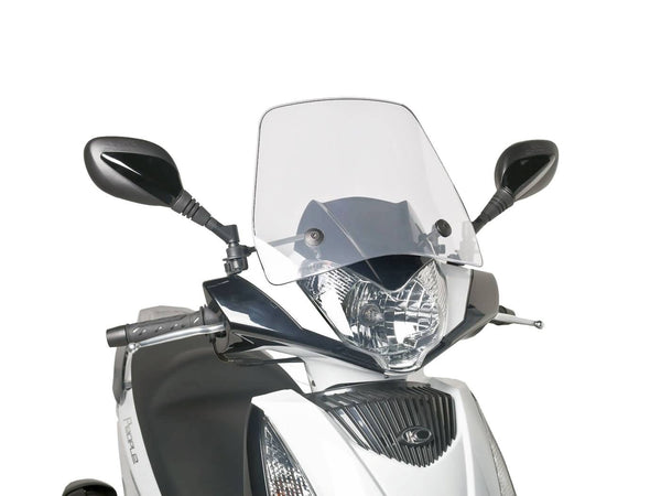 windshield Puig Trafic transparent / clear for Yamaha Jog R 50, RR 50