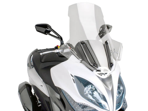 windshield Puig V-Tech Touring transparent / clear for Kymco Xciting 400i
