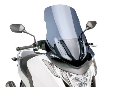 windshield Puig V-Tech Touring dark smoke for Honda Integra NC700, NC750