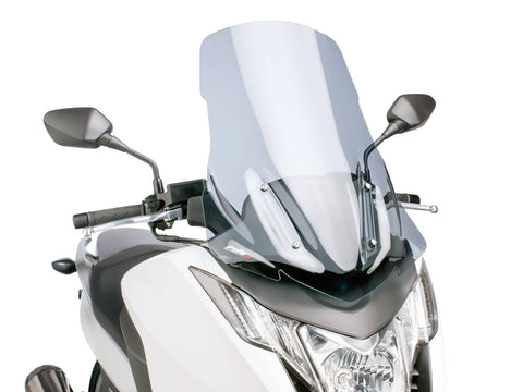 windshield Puig V-Tech Touring smoke for Honda Integra NC700, NC750