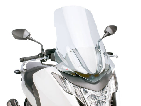 windshield Puig V-Tech Touring transparent / clear for Honda Integra NC700, NC750