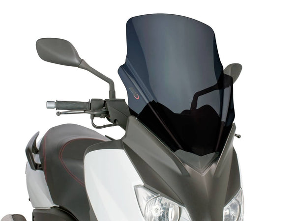 windshield Puig V-Tech Touring black for Yamaha X-Max 125 YP125R 10-14