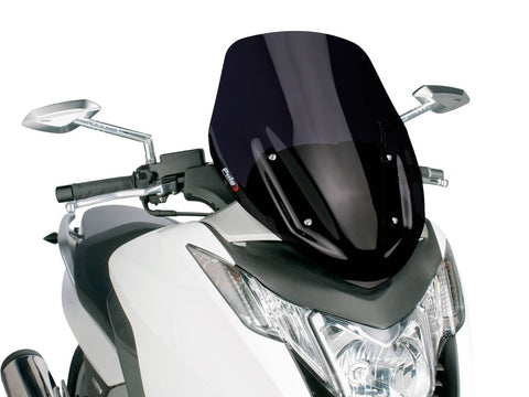 windshield Puig V-Tech Sport black for Honda Integra NC700, NC750