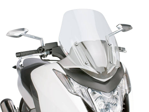windshield Puig V-Tech Sport transparent / clear for Honda Integra NC700, NC750