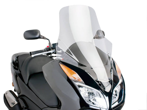 windshield Puig V-Tech Touring transparent / clear for Honda Forza NSS 300 ABS 2013-