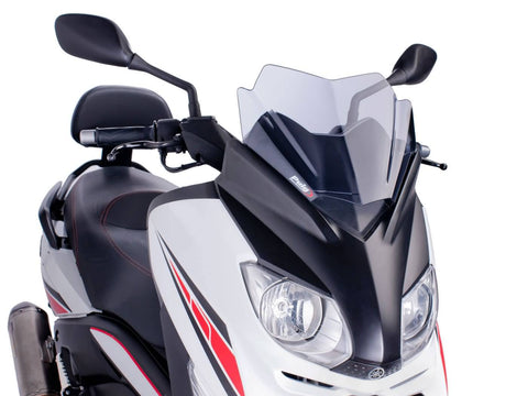 windshield Puig V-Tech Sport smoke for Yamaha X-Max 125 YP125R 10-14