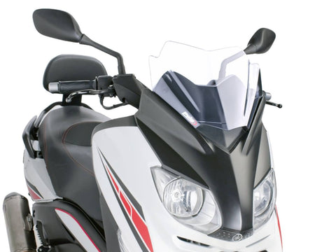 windshield Puig V-Tech Sport transparent / clear for Yamaha X-Max 125i ABS YP125R (SE544) 11-