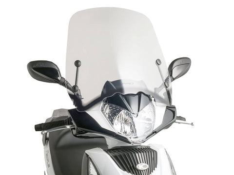 windshield Puig T.S. transparent / clear for Kymco People GT 125i, 200i, 300i (10-14)