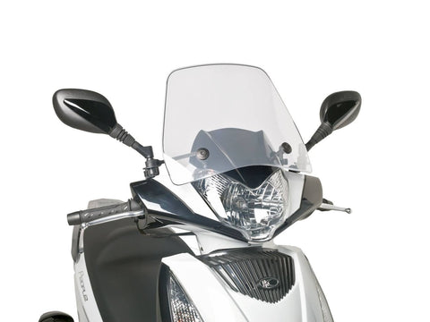 windshield Puig Trafic transparent / clear for Kymco People GT 125i, 200i, 300i (10-14)