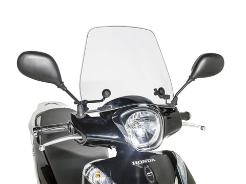 windshield Puig Trafic transparent / clear for Honda SH Mode 125