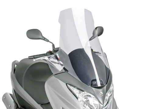 windshield Puig V-Tech Touring transparent / clear for Burgman 125, 200 14-
