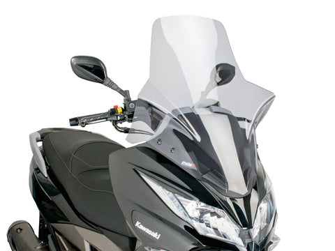 windshield Puig V-Tech Touring smoke for Kawasaki J300