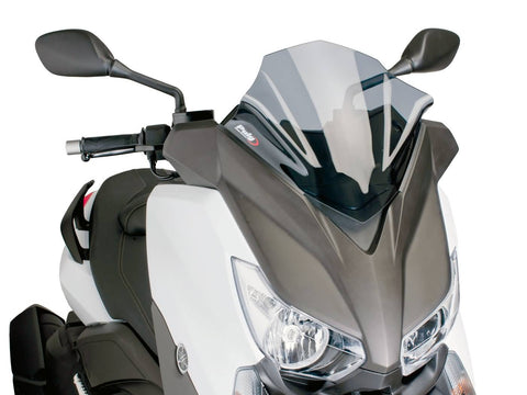 windshield Puig V-Tech Sport smoke for Yamaha X-Max 125, 250, 400 14-