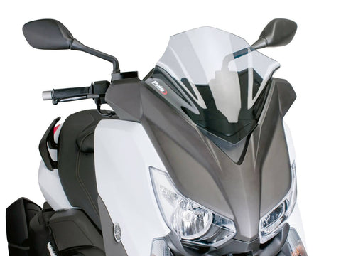 windshield Puig V-Tech Sport transparent / clear for Yamaha X-Max 125, 250, 400 14-