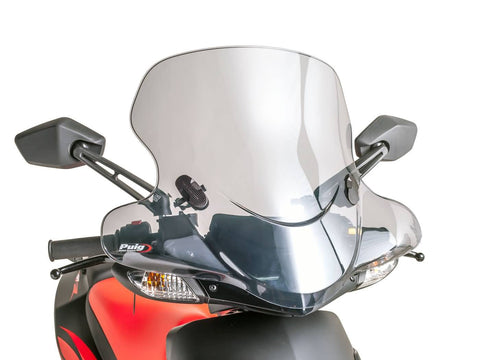 windshield Puig City Touring smoke for Aprilia SR 50 R 05-15