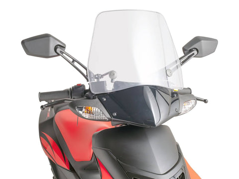 windshield Puig Trafic transparent / clear for Aprilia SR50R 05-15