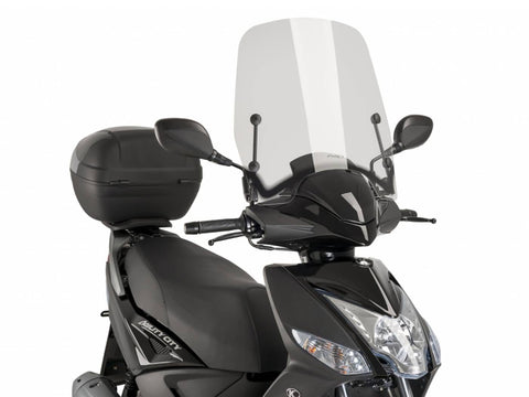 windshield Puig T.S. transparent / clear for Kymco Agility City 50, 125
