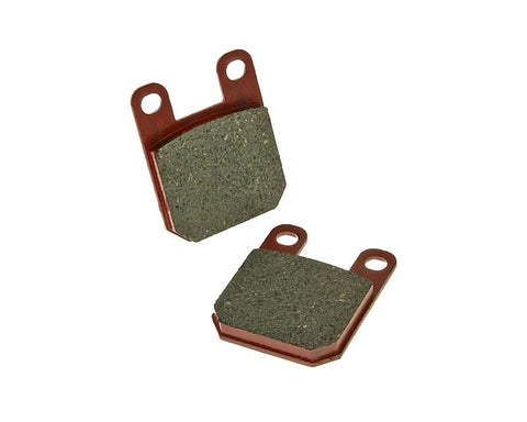 brake pads organic for Derbi Gilera Italjet Peugeot