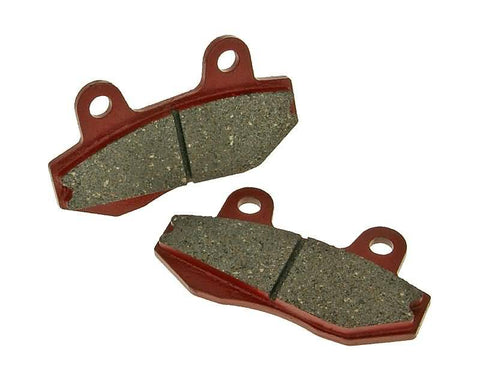 brake pads organic for Peugeot Speedfight 3, Hyosung GT, GV