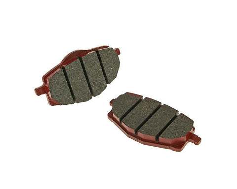 brake pads organic for Yamaha Cygnus, TZR, MBK Flame, X-Power