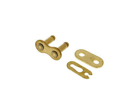 replacement master link KMC gold for chain marked 428