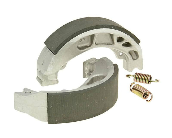 brake shoe set 110x25mm for drum brake for Peugeot Django, Kisbee, Speedfight 3