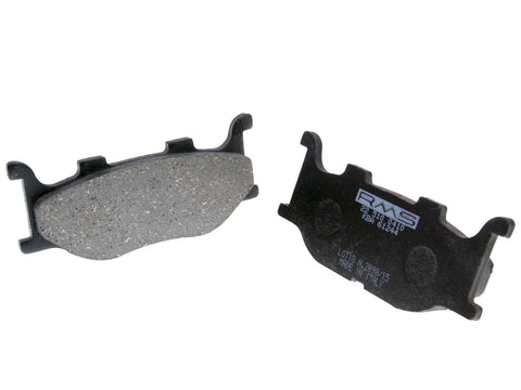 brake pads organic for Italjet Jupiter, Yamaha Majesty, MBK Skyliner