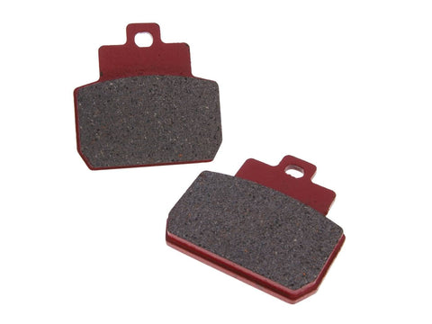 brake pads organic for Piaggio Beverly, MP3, X8, X9