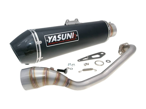 exhaust Yasuni Scooter 4 Black Edition for Yamaha N-Max 125