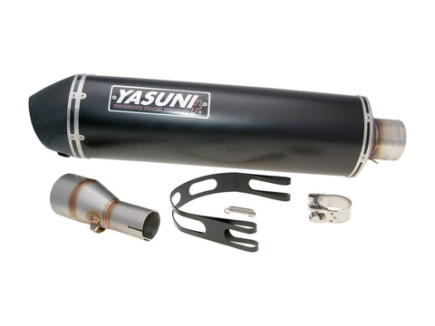 exhaust Yasuni Scooter 4 Black Edition for Piaggio MP3 500