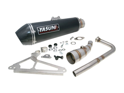 exhaust Yasuni Scooter 4 Black Edition for Honda SH 125 (13-15)