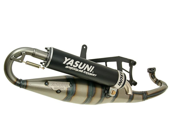 exhaust Yasuni Scooter R black for Aprilia, Suzuki