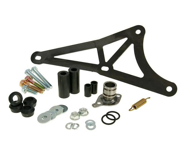 exhaust Yasuni R mounting kit complete for Piaggio