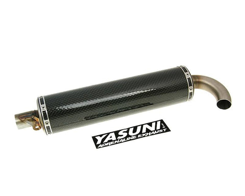 silencer Yasuni Scooter carbon for Carrera 30