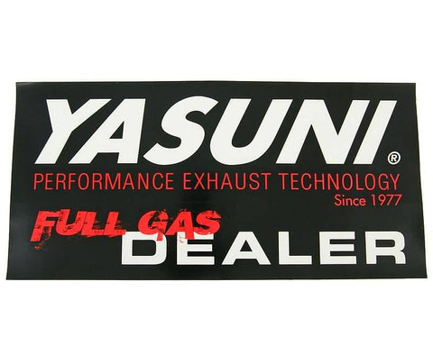 sticker Yasuni Full Gas Dealer