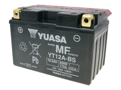 battery Yuasa YT12A-BS DRY MF maintenance free
